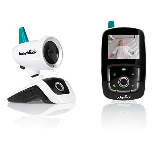 Babymoov YOO Care Babyphone Ecoute-Bébé Vidéo - Orientable à 360° - Portée de 300m - Avec...