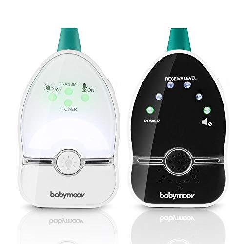 Babymoov Easy Care Babyphone Audio avec Veilleuse - Basse émission d'ondes